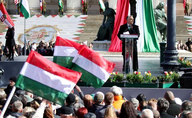 Izid je še odprt, a je Viktor Orbán očitno dojel resnost položaja v EPP. Foto: Reuters