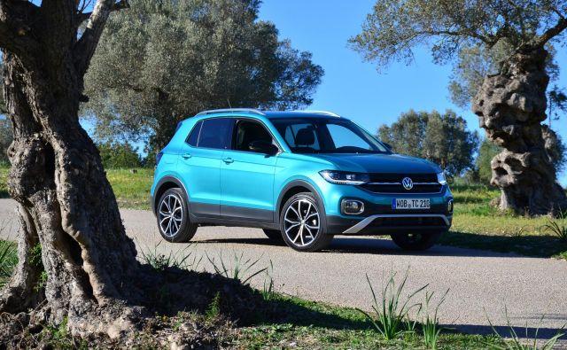 T-cross je novi član Volkswagnove ponudbe SUV- vozil, tokrat na vstopni strani. Foto Gašper Boncelj