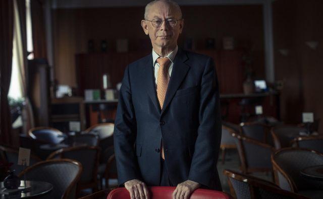 Herman Van Rompuy meni,da je povezava med njegovim političnim delovanjem in haikujem harmonija. Foto: Voranc Vogel