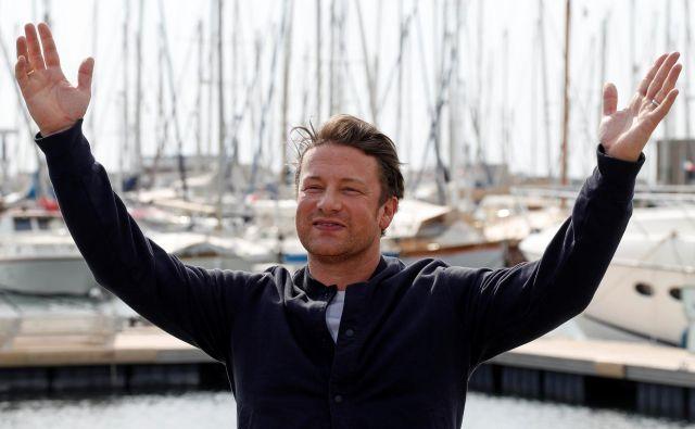 Jamie Oliver se kljub priljubljenosti ni uvrstil med 50 najboljših kuharjev sveta. Foto Reuters