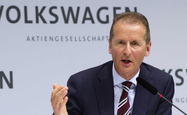 Herbert Diess, šef Volkswagna, stavi na elektriko, ne na gorivne celice.