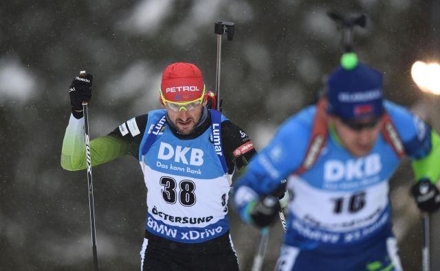 Pred Jakovom Fakom, najboljšim Slovencem na SP v Östersundu, je zadnje dejanje sezone.<br /> FOTO AFP