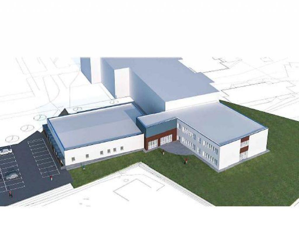 FOTO:Louis Adamič bo dobil nov šolski prizidek