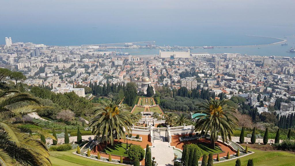 FOTO:Plaže, vrtovi in šport: Slovenci v nogometni Haifi kot doma