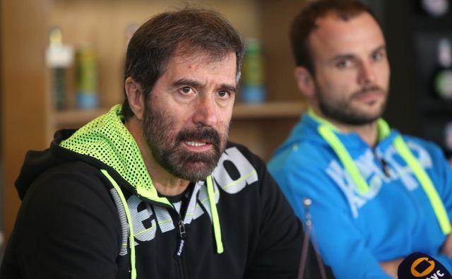 Veselin Vujović je bil ob razkritju seznama precej jezen zaradi odnosa igralcev in odpovedi. FOTO: Igor Zaplatil/Delo