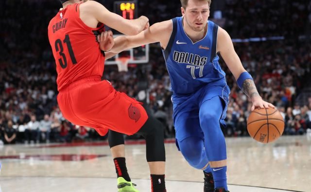 Luka Dončić je bil spet prvi strelec Dallasa, vendar je ta doživel nov poraz. FOTO: Usa Today Sports