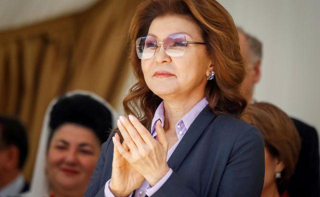 Dariga Nazarbajeva je kontroverzna osebnost. FOTO: Shamil Zhumatov/Reuters