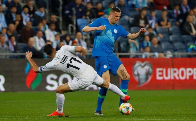 Josip Iličić je bil v prvem polčasu zelo razigran. FOTO: AFP