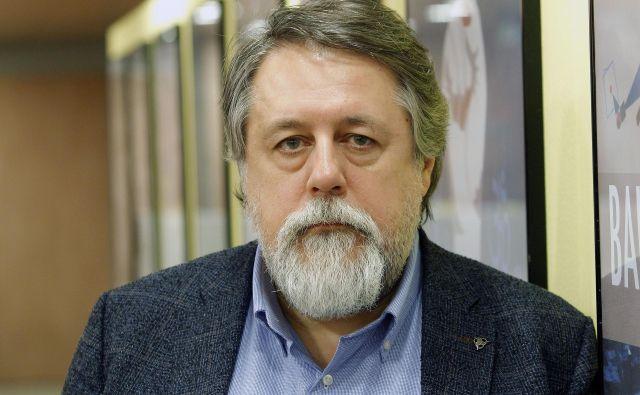 Vitalij Manski, 55, je politični in kulturni disident, ne pa tudi emigrant, kot pravi, saj stikov z Rusijo (še) ni pretrgal. FOTO: Mavric Pivk