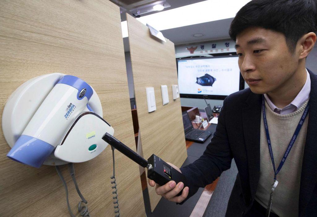 Aretirali Korejca, ki sta skrivaj posnela 1600 hotelskih gostov