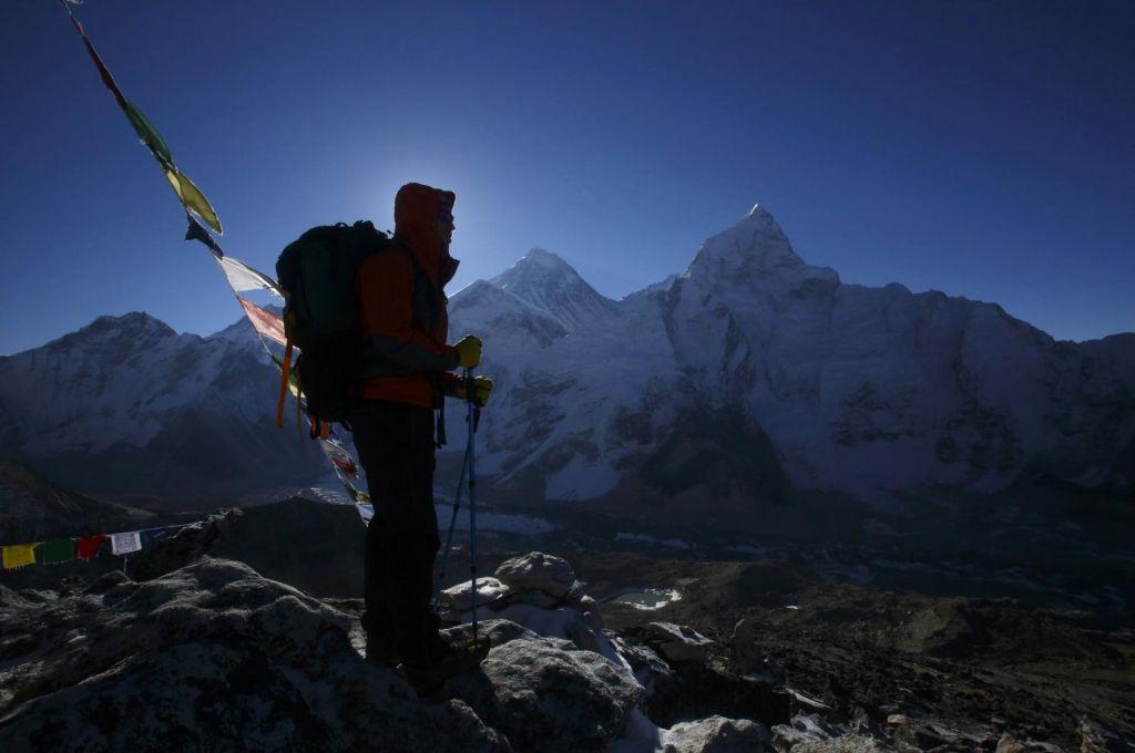 FOTO:Zaradi taljenja ledu nekdaj globoko zakopana trupla alpinistov zdaj na površju
