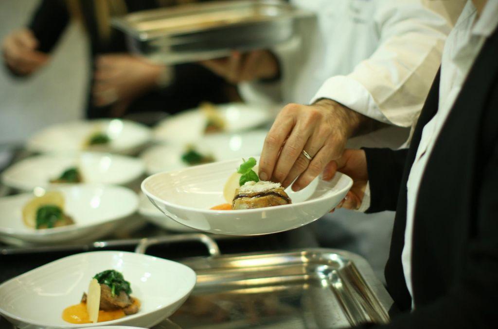 FOTO:Dobrojedci so si rezervirali več miz