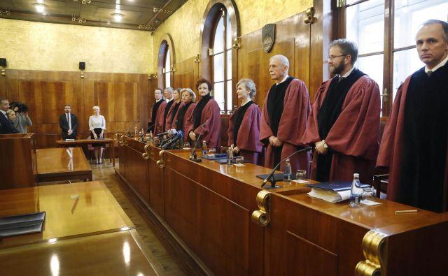 Ustavno sodišče v vse več sodbah odloča po vsebinski plati. Foto Leon Vidic
