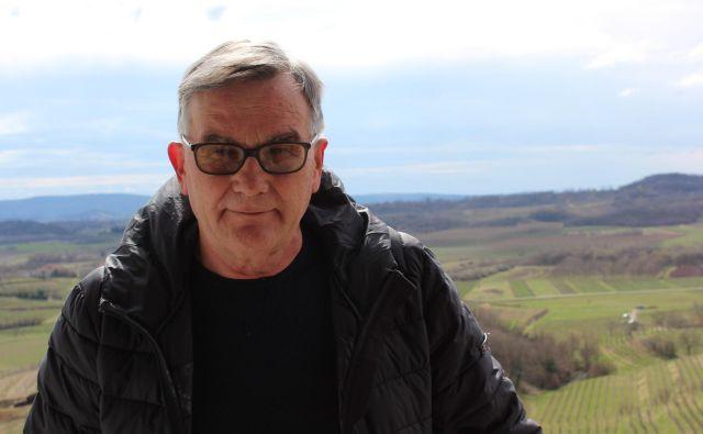 Radko Pulec: Za odkup bi pri nas dobil 50 ali 60 centov za kilogram grozdja, v Italiji pa tudi 1,30 evra. Foto Blaž Močnik
