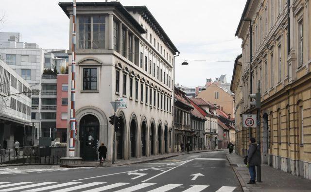 Poljanska cesta v Ljubljani pred prenovo. FOTO Uroš Hočevar/Delo