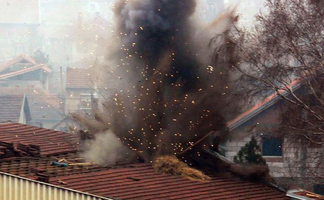 Natova letala so bombardirala 1072 lokacij v takratni Zvezni republiki Jugoslaviji. FOTO: Reuters