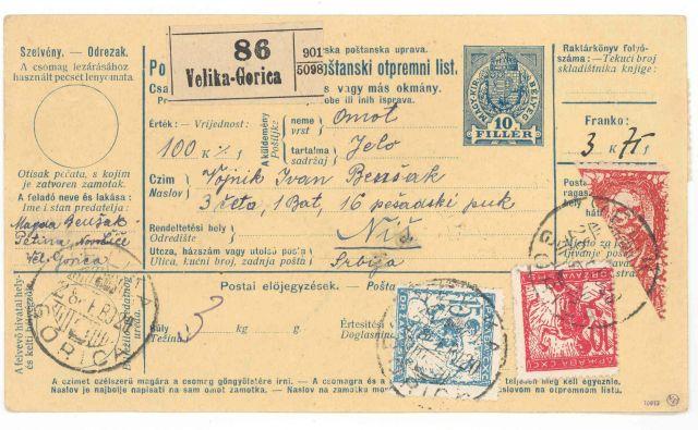 Znamke so bile v uporabi najprej na območju Slovenije, razen v delu, ki ni spadal v okvir kraljevine. FOTO Boštjan Petauer
