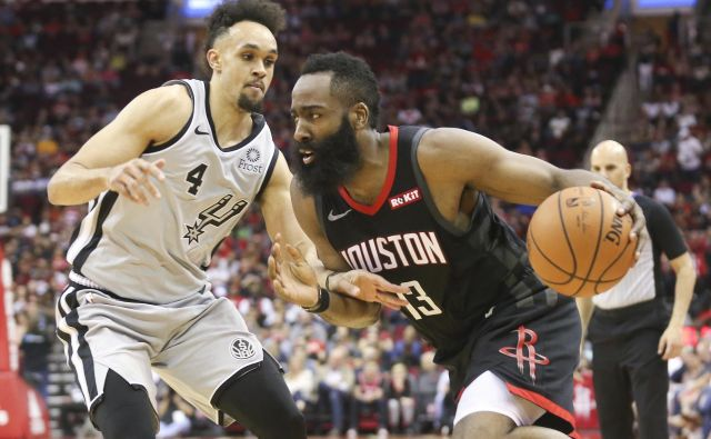 James Harden je letos neustavljiv. FOTO: Reuters