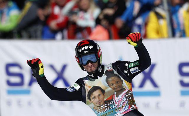 Robert Kranjec je po 20 letih v svetovnem pokalu končal svojo športno pot. FOTO: Matej Družnik/Delo