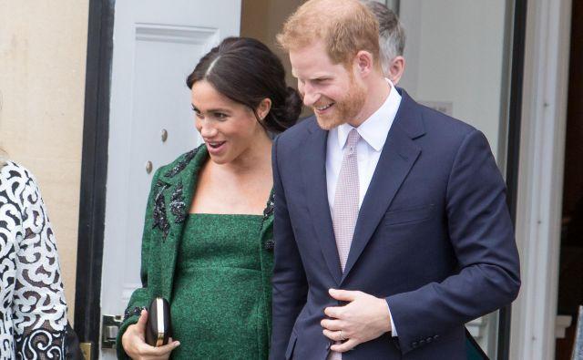 Meghan in princ Harry Foto: Shutterstock