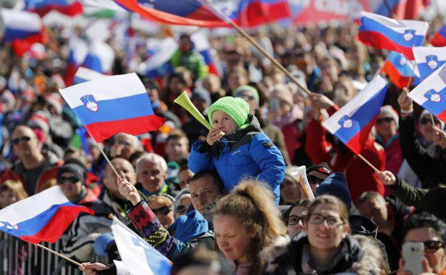 V Planici so letos našteli 62.000 gledalcev. FOTO: Matej Družnik/Delo