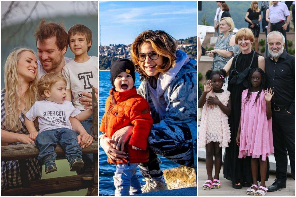 FOTO:Tri znane slovenske mame o materinstvu