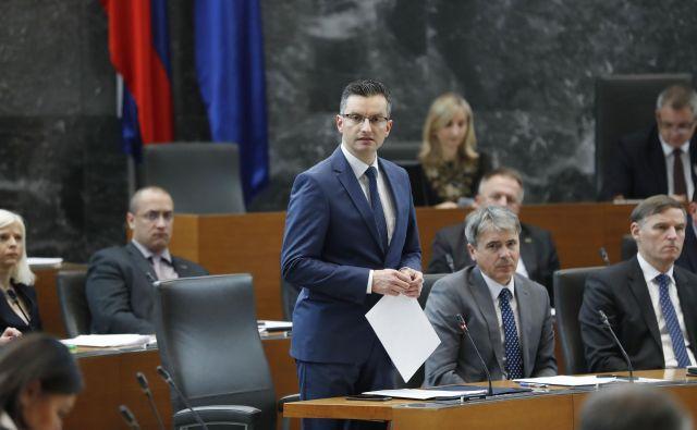 Predsednik vlade Marjan Šarec FOTO: Leon Vidic/Delo