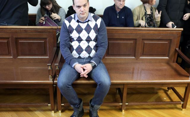 Uroš Smiljić krivde v kazenskem postopku ni priznal. Foto Igor Mali