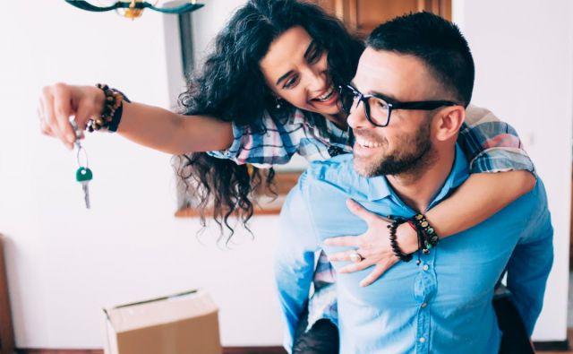 Stanovanjski kredit je le eden od korakov na poti do lastnega doma. Foto: SKB