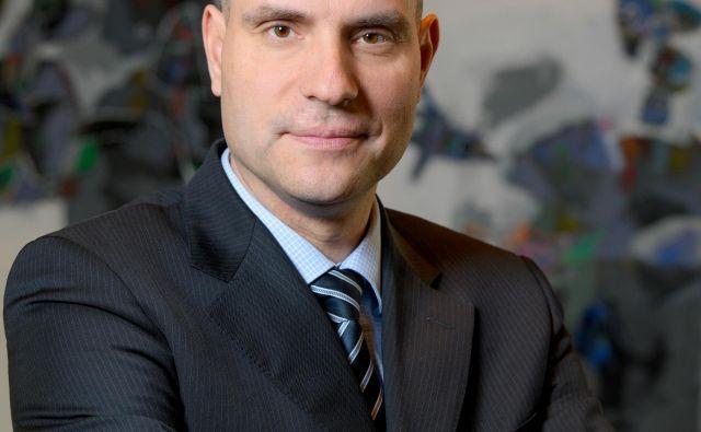 Marko Filipčič je prekaljeni bančnik. Foto Gorenjska Banka Delo