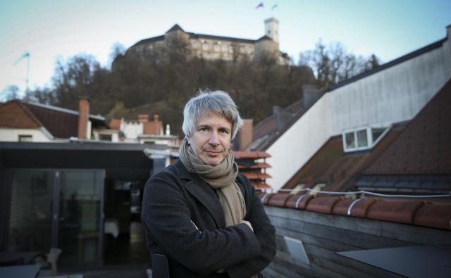 Éric Vuillard je pred kratkim obiskal Ljubljano kot gost festivala Fabula. Foto: Jože Suhadolnik