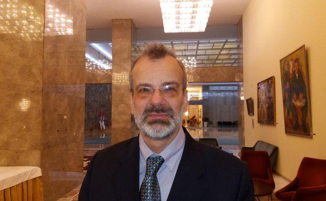 Dr. Vladimir Cvetković, dekan Fakultete za varnost Univerze v Beogradu.