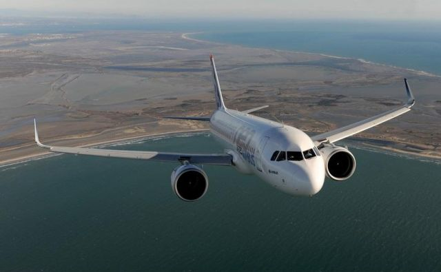 Družba Airbus postaja eden od najbolj vplivnih igralcev na trgu letal.FOTO: Pecchi Anthony