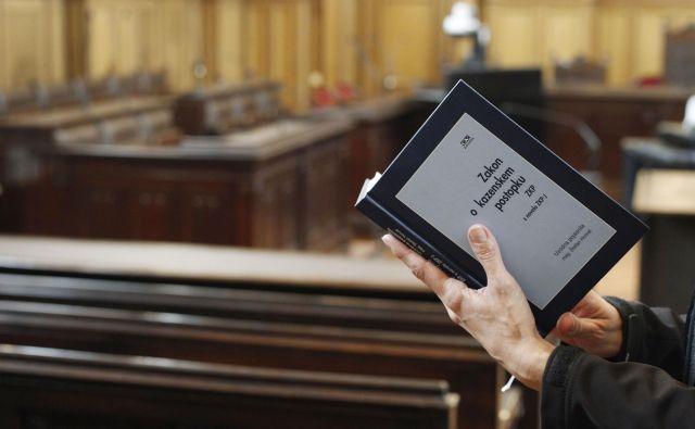 Novela ZKP je bila usklajena z vrhovnim sodiščem, tožilstvom in policijo. FOTO: Leon Vidic/Delo
