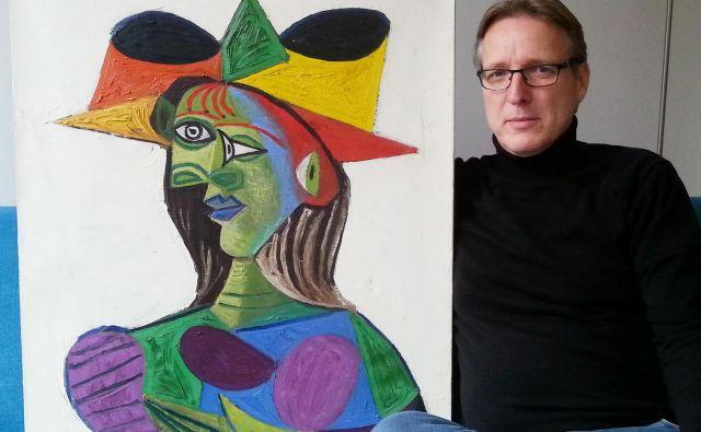 Da se Picassova slika nahaja na Nizozemskem, so Arthurja Branda obvestili leta 2015. Med raziskavami je izvedel, da so jo kriminalci uporabljali v medsebojnih poslih z mamili in orožjem. FOTO: AFP