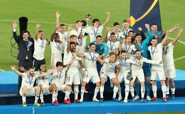 Evropski prvak Real Madrid je igraje zmagal zadnja tri klubska svetovna prvenstva. FOTO: Reuters