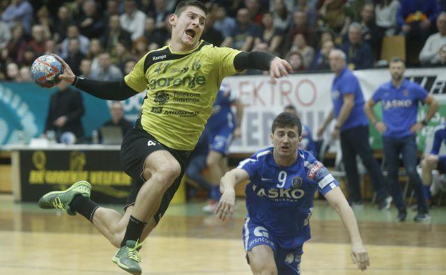Aleks Kavčič se je izkazal za odlično okrepitev Gorenja. FOTO: Blaž Samec