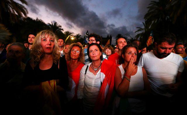 Kdor misli, da gnoj ne bo brizgnil čez meje, se krepko moti. Avtoritarne sile po vsej EU gledajo in se učijo. FOTO: Ivan Alvarado/Reuters