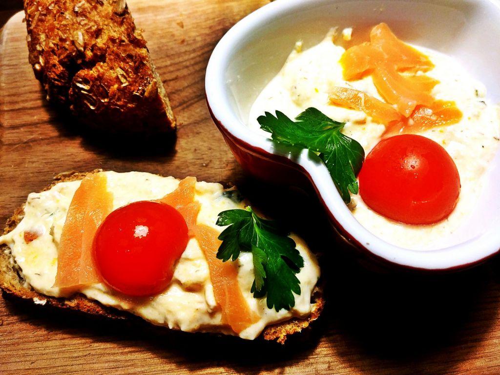 Poletov recept: Lososov namaz