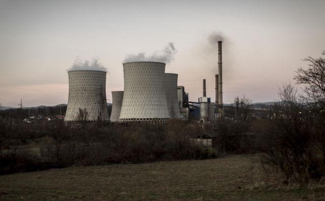 TE Tuzla izloča približno 20-krat več strupenih izpustov kot primerljive termoelektrarne v EU. Foto Voranc Vogel