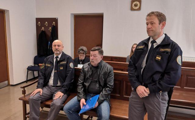 Branko Mrkun je obsojen zaradi ugrabitve nekdanje partnerice. Sodba še ni pravnomočna. FOTO: Mojca Marot