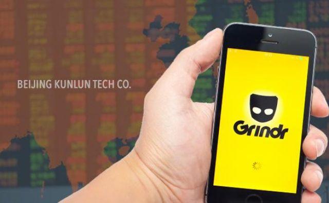 Beijing Kunlun Tech se je odločil prodati priljubljeno gejevsko aplikacijo Grindr. Foto arhiv