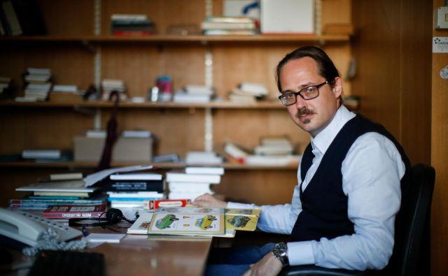 Dr. Jurij Hadalin, raziskovalec v Muzeju novejše zgodovine Slovenije<br /> Foto Uroš Hočevar