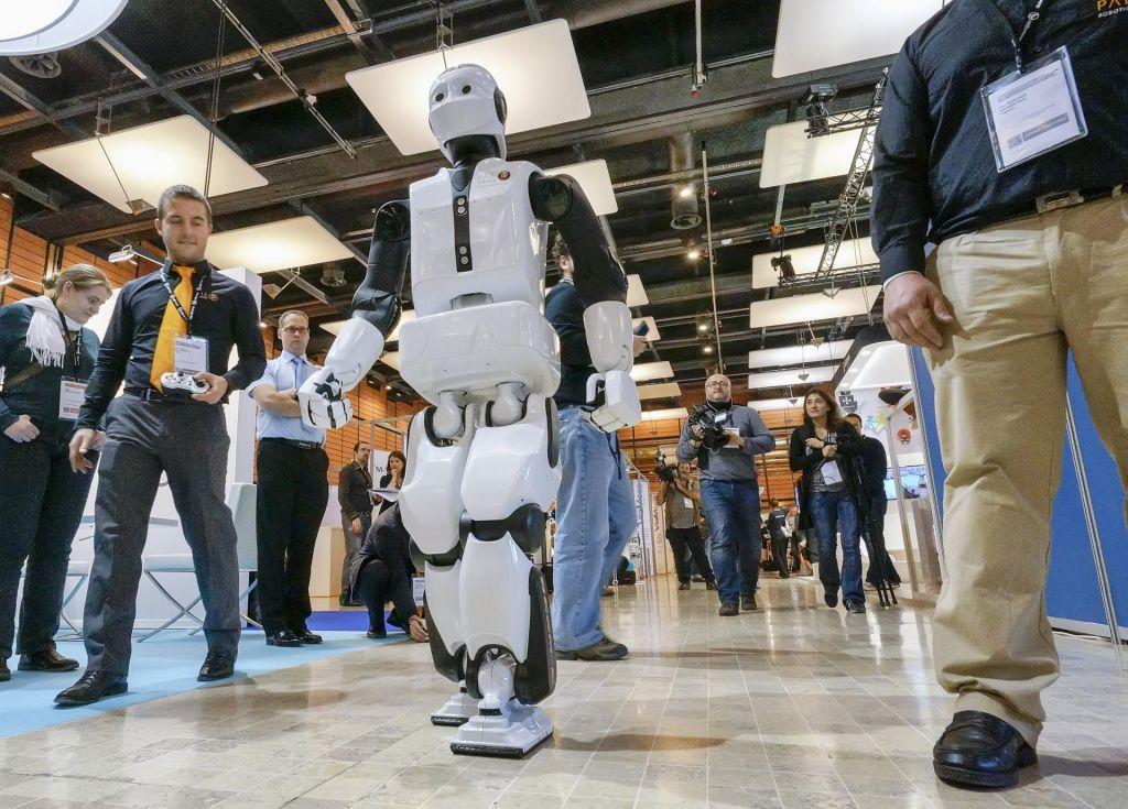 Sodobnih robotov ni brez senzorjev gibanja