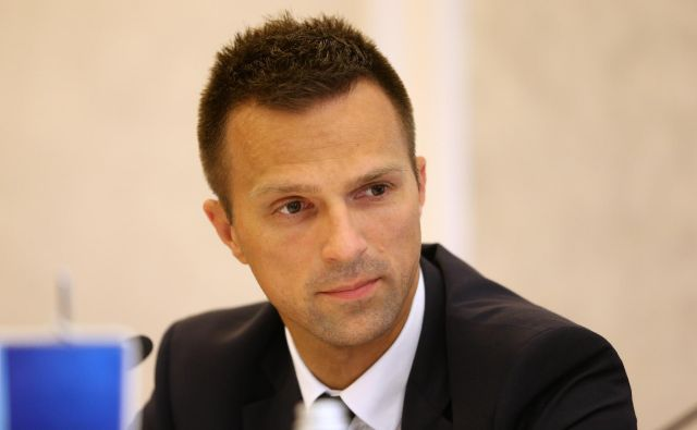 V. d. glavnega izvršnega direktorja Matej Pirc (na fotografiji) bo prevzel posle Andreja Prebila. Foto Uroš Hočevar