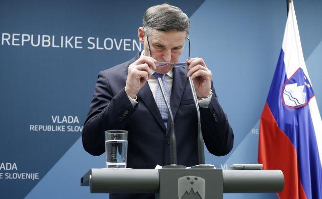 Minister za finance Andrej Bertoncelj razbremenil regres. Foto Blaž Samec