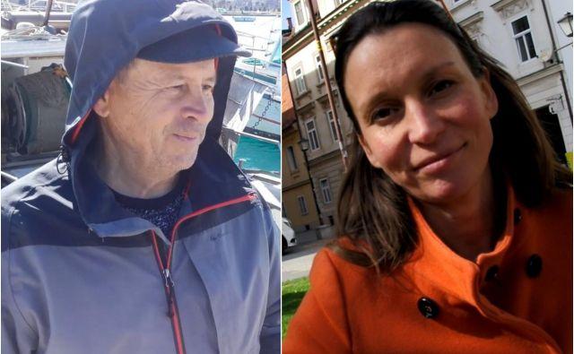 Silvano Radin in Katja Beck Kos sta odgovarjala na vprašanja o Evropi. Več v spodnjih posnetkih! FOTO: Delo