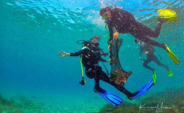 Morja in oceani so polna odpadkov, med katerimi prevladuje plastika. Foto: Karlo Macas