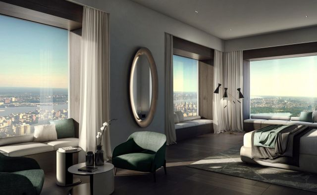 Bi živeli v stanovanju v 95. nadstropju v New Yorku? Foto: arhiv Podjetja Molteni & C, Biro Matteo