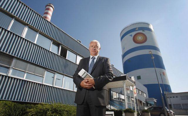 Samo Lozej, direktor Energetike Ljubljana, bo z grško družbo Mytilineos Holdings prihodnji teden sklenil posel desetletja. FOTO: Leon Vidic